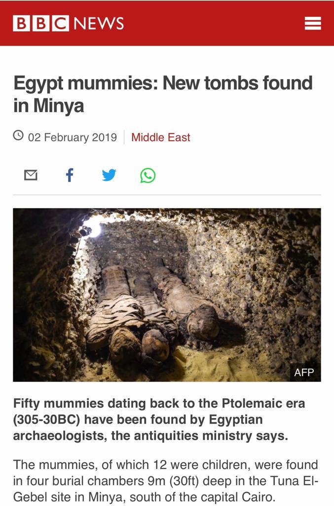 الصحف العالمية تتحدث عن اكتشافات تونة الجبل (6)