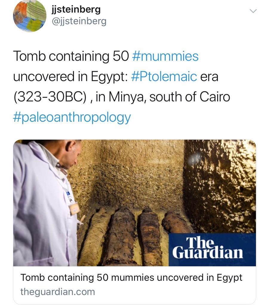 الصحف العالمية تتحدث عن اكتشافات تونة الجبل (3)