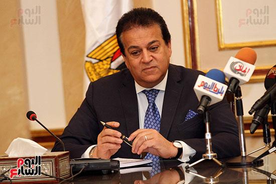 الشيخ سلطان القاسمى خلال زيارته لجامعة القاهرة (22)