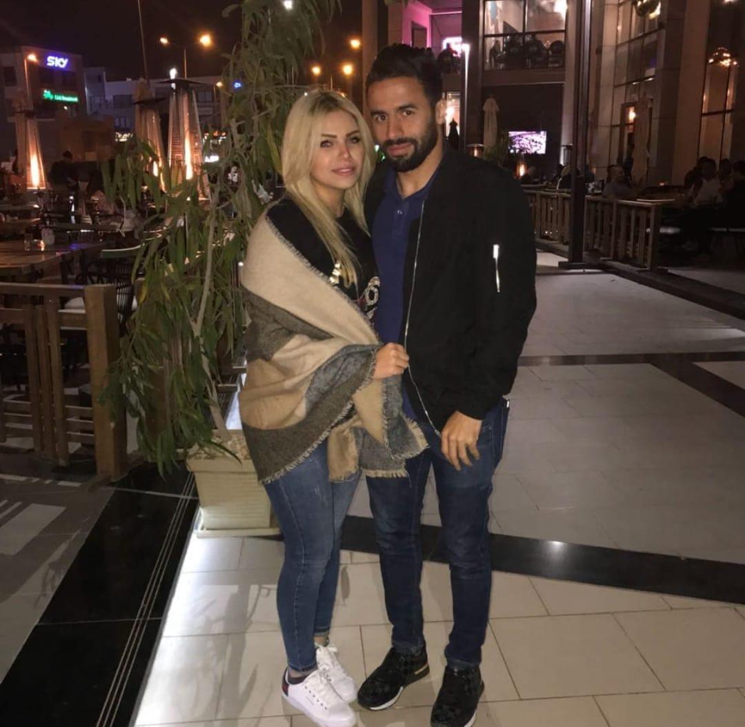 أحمد شديد قناوى و زوجته أية