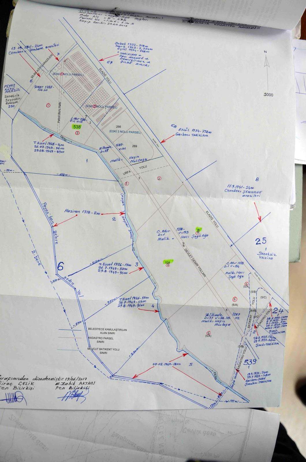 مخطط أراضي الأرمن في منطقة ديار بكر