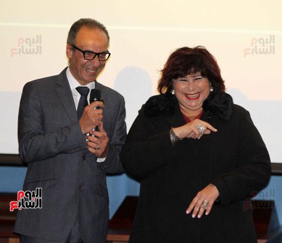 وزيرة الثقافة تكرم عددا من الشخصيات (13)
