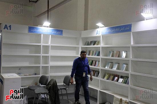 الناشرون يستعدون لمغادرة معرض القاهرة  (1)