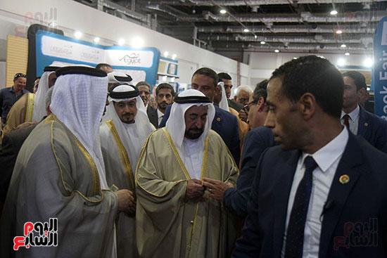 الشيخ سلطان القاسمى فى معرض الكتاب (45)