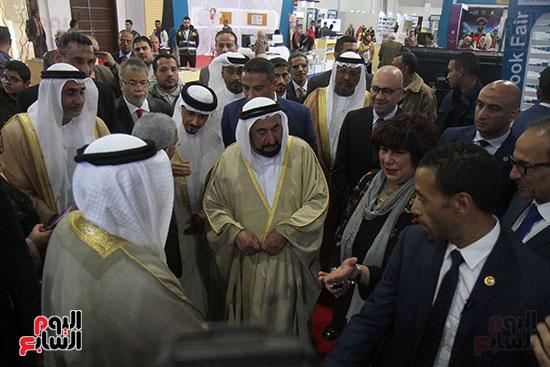 الشيخ سلطان القاسمى فى معرض الكتاب (44)