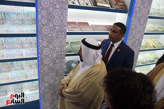 الشيخ سلطان القاسمى فى معرض الكتاب (41)