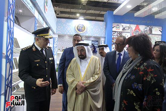 الشيخ سلطان القاسمى فى معرض الكتاب (22)