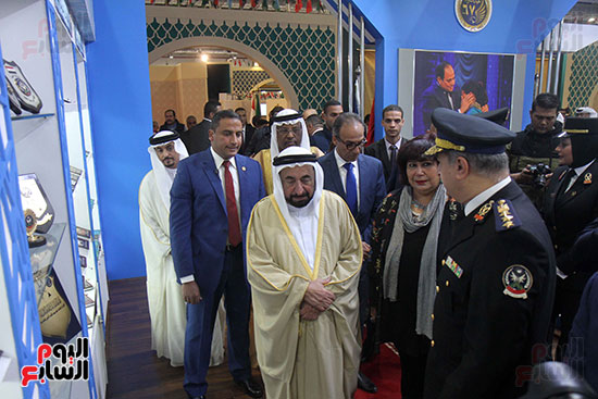 الشيخ سلطان القاسمى فى معرض الكتاب (26)