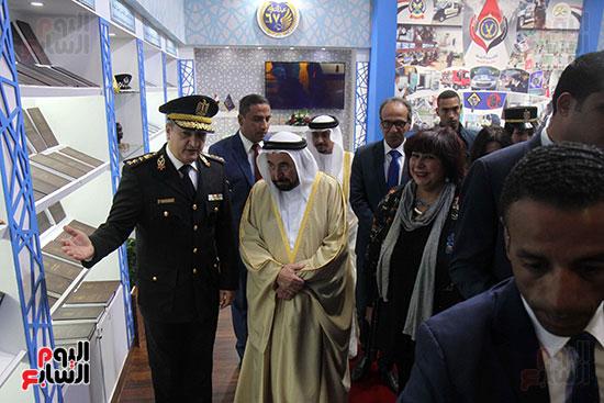 الشيخ سلطان القاسمى فى معرض الكتاب (24)