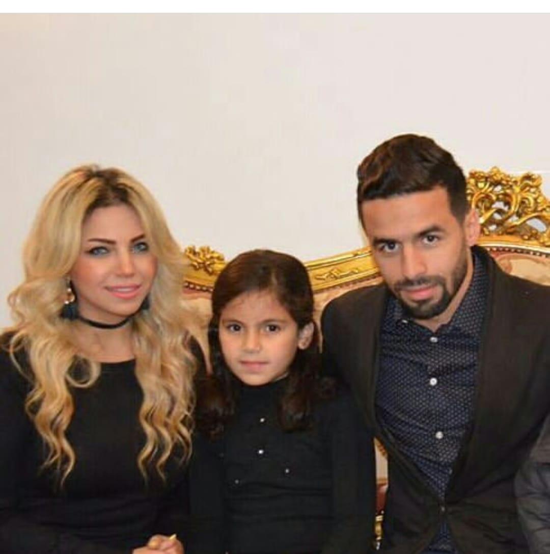 أحمد شديد قناوى و زوجته أية و أبنته ملك