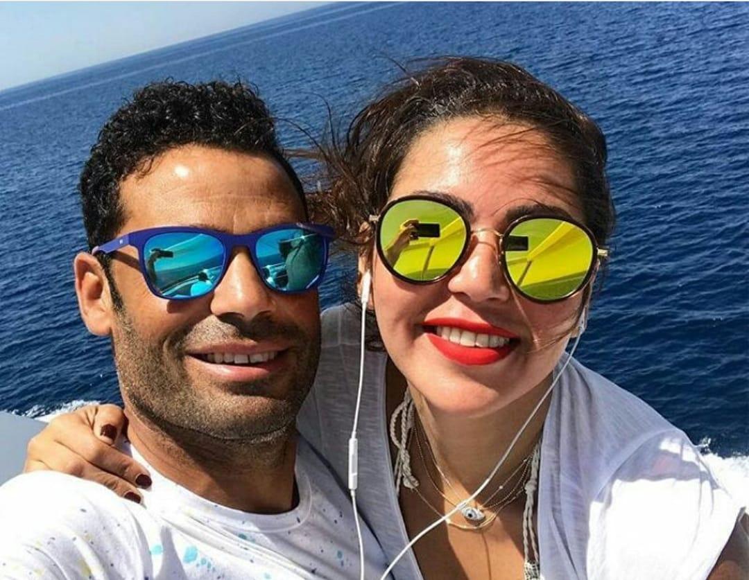 134805-لقاء-الخميسى-و-زوجها-محمد-عبد-المنصف-على-البحر