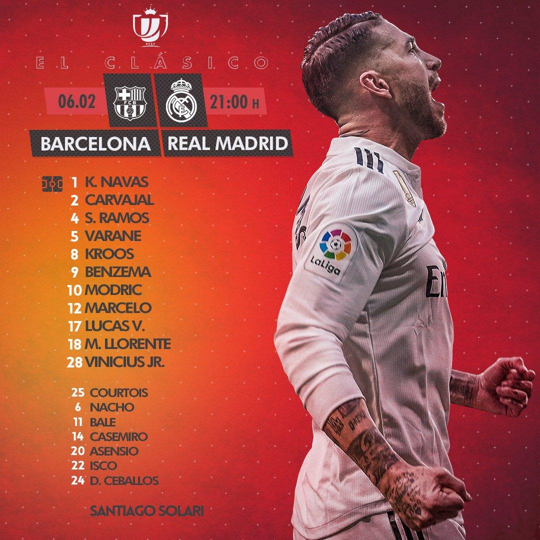 تشكيل ريال مدريد
