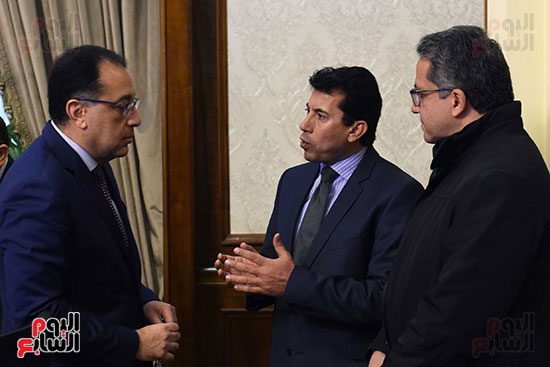 اجتماع مجلس الوزراء الأسبوعى (10)