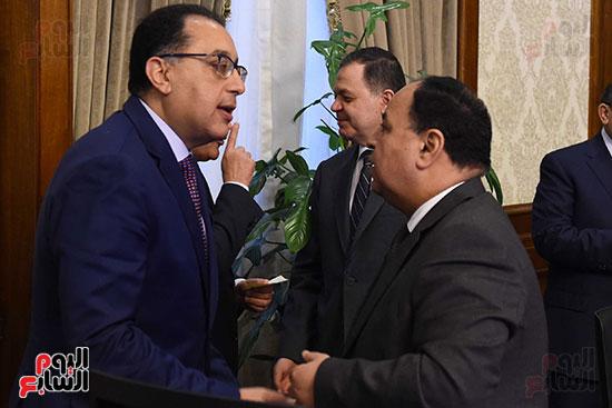 اجتماع مجلس الوزراء الأسبوعى (7)