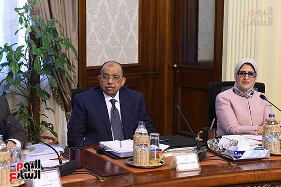 اجتماع مجلس الوزراء الأسبوعى (14)