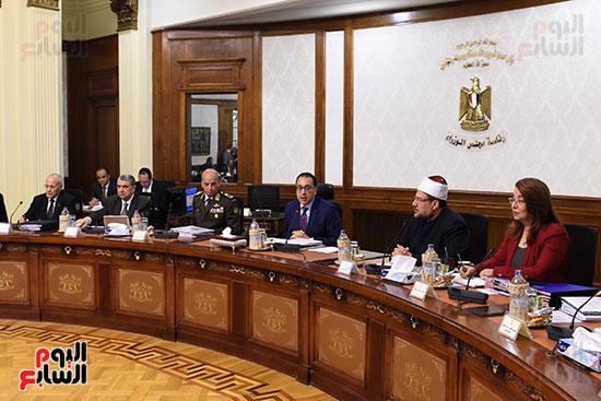 اجتماع مجلس الوزراء الأسبوعى (12)