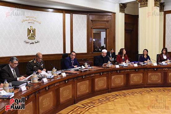 اجتماع مجلس الوزراء الأسبوعى (19)