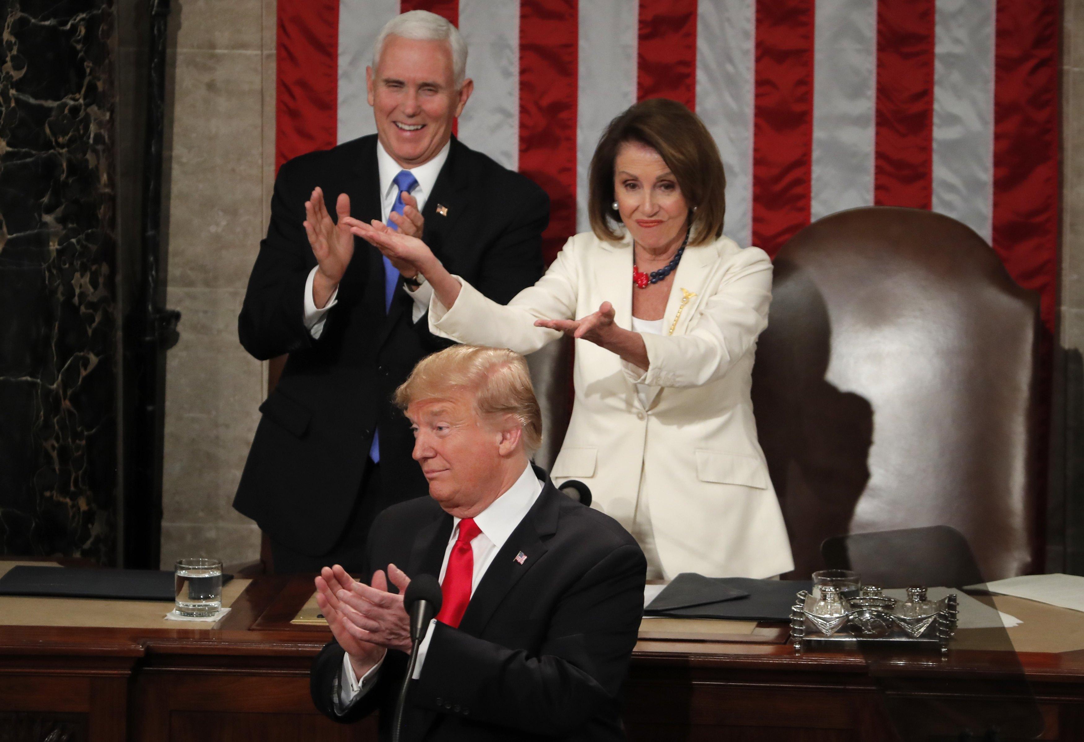 ترامب أمام الكونجرس الأمريكى