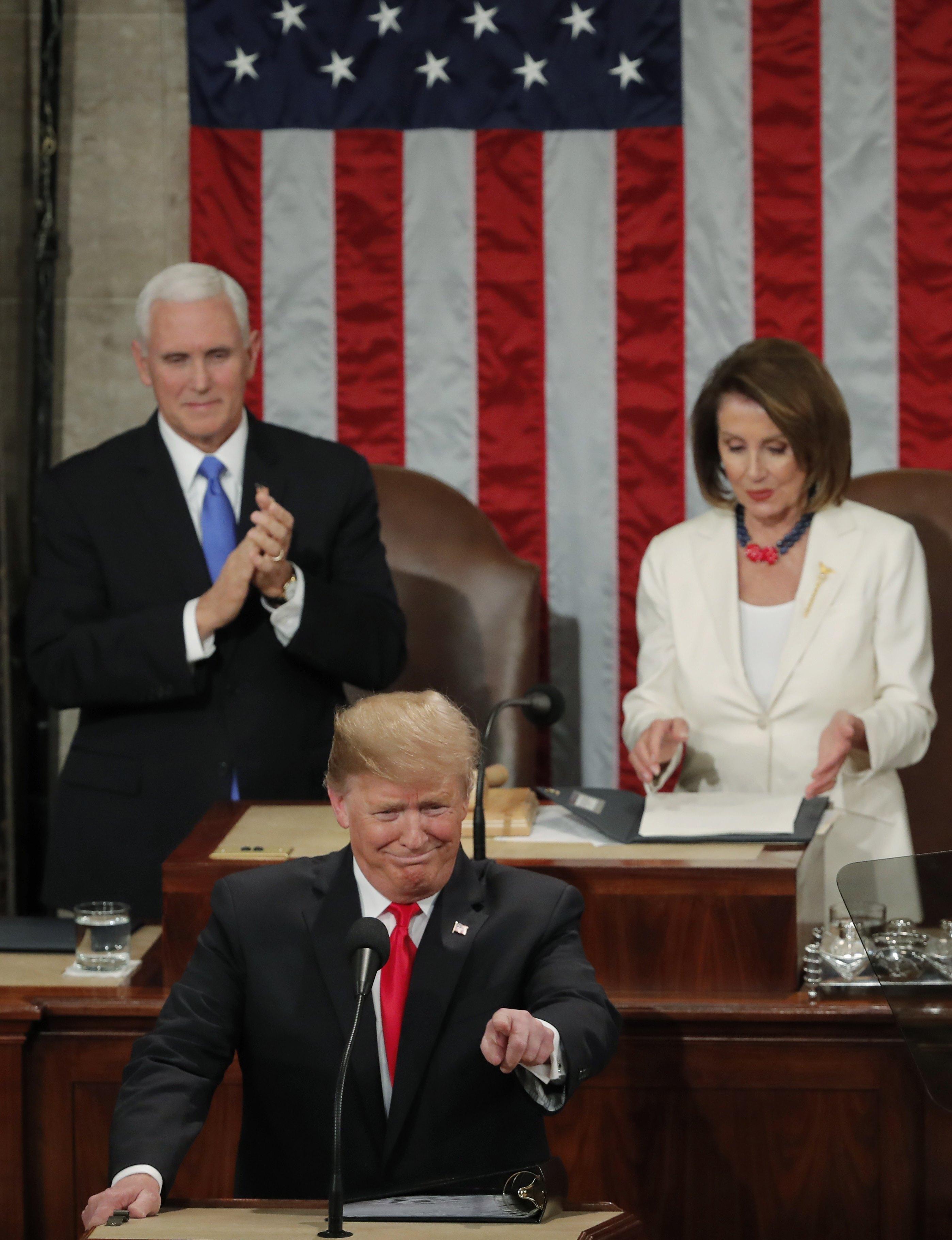 ترامب أمام الكونجرس