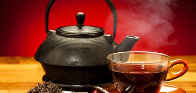 الشاي الاسود