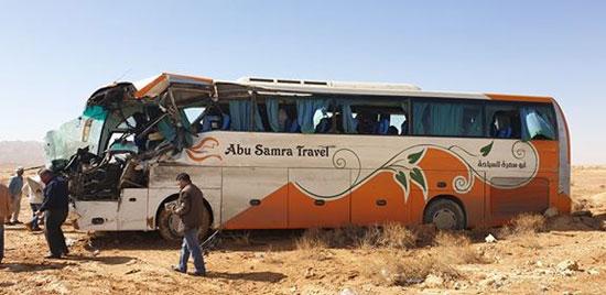 حادث تصادم بطريق شرم الشيخ (2)