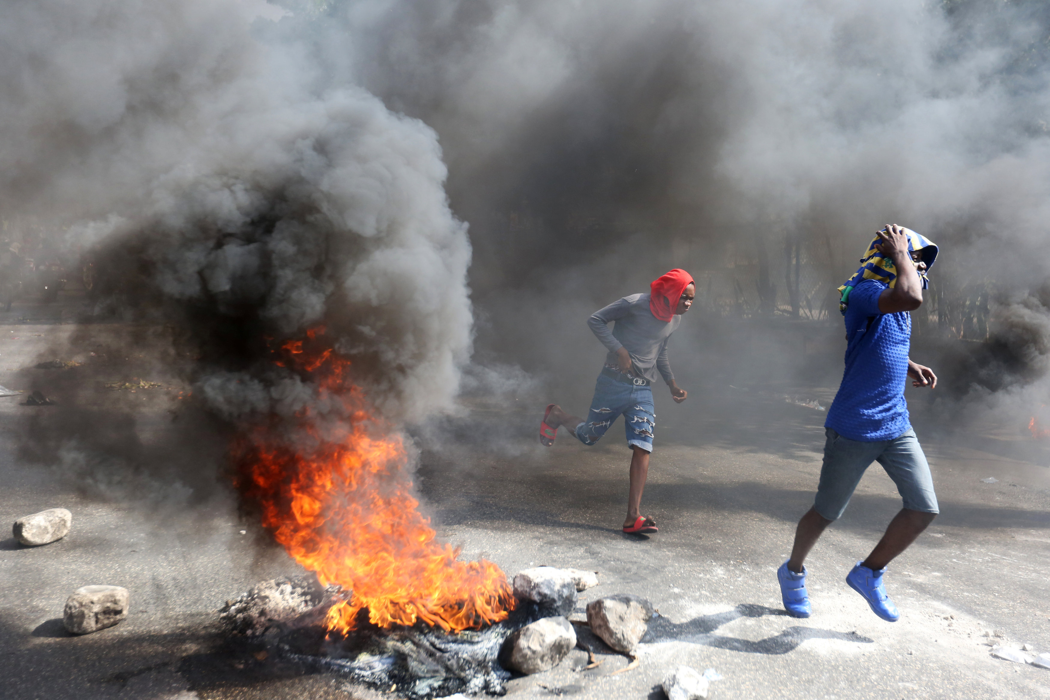مظاهرات عنيفة فى هايتى بسبب الفساد (5)