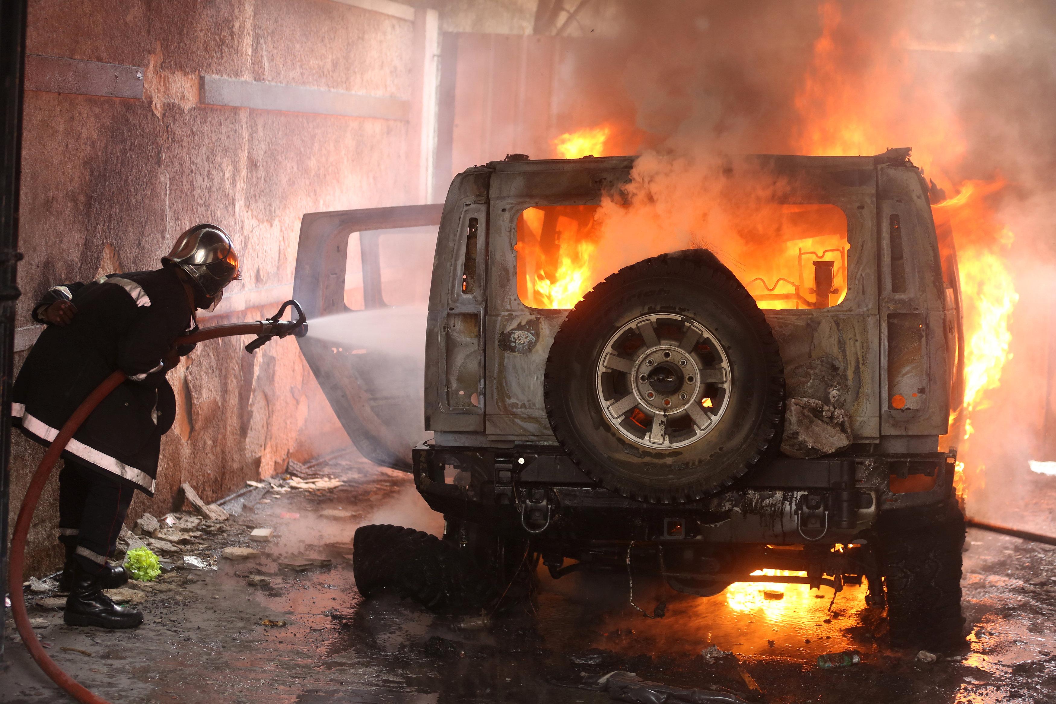 مظاهرات عنيفة فى هايتى بسبب الفساد (7)