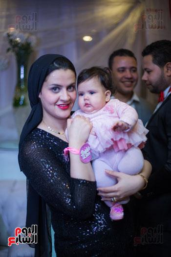نجوم الزمالك فى حفل خطوبة محمد عنتر و دنيا الحلو (75)
