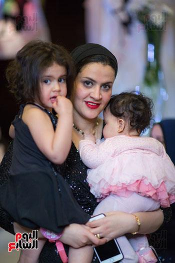 نجوم الزمالك فى حفل خطوبة محمد عنتر و دنيا الحلو (64)