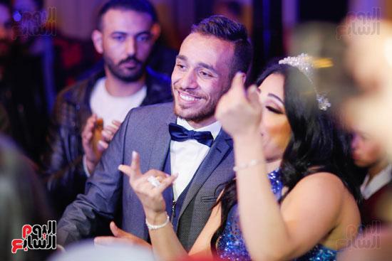 نجوم الزمالك فى حفل خطوبة محمد عنتر و دنيا الحلو (67)