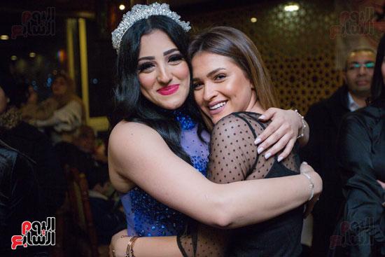 نجوم الزمالك فى حفل خطوبة محمد عنتر و دنيا الحلو (44)