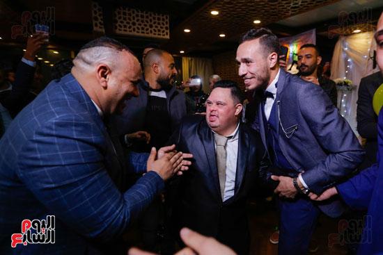نجوم الزمالك فى حفل خطوبة محمد عنتر و دنيا الحلو (7)