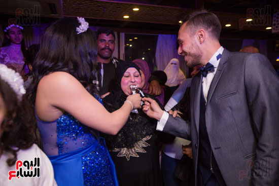 نجوم الزمالك فى حفل خطوبة محمد عنتر و دنيا الحلو (56)