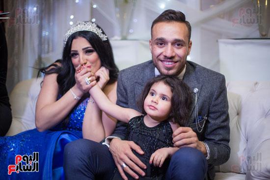نجوم الزمالك فى حفل خطوبة محمد عنتر و دنيا الحلو (76)