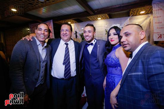 نجوم الزمالك فى حفل خطوبة محمد عنتر و دنيا الحلو (29)