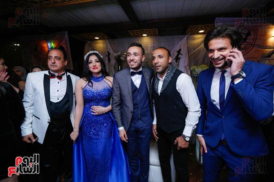نجوم الزمالك فى حفل خطوبة محمد عنتر و دنيا الحلو (3)