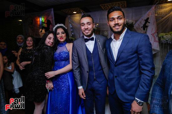 نجوم الزمالك فى حفل خطوبة محمد عنتر و دنيا الحلو (4)