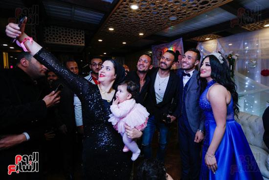 نجوم الزمالك فى حفل خطوبة محمد عنتر و دنيا الحلو (61)