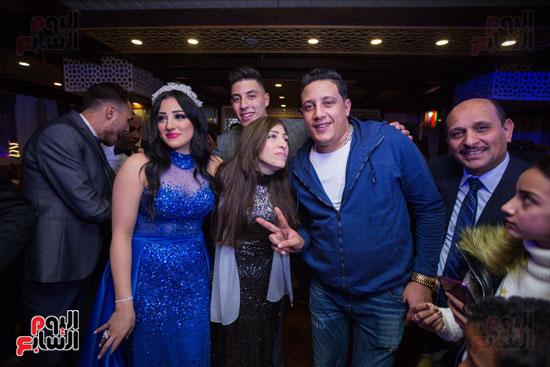 نجوم الزمالك فى حفل خطوبة محمد عنتر و دنيا الحلو (60)