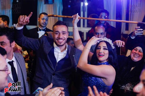 نجوم الزمالك فى حفل خطوبة محمد عنتر و دنيا الحلو (81)
