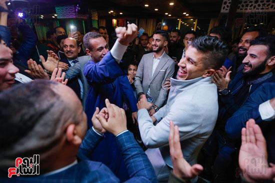 نجوم الزمالك فى حفل خطوبة محمد عنتر و دنيا الحلو (21)
