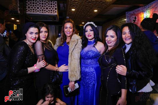 نجوم الزمالك فى حفل خطوبة محمد عنتر و دنيا الحلو (28)