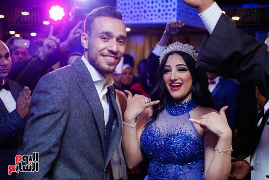 نجوم الزمالك فى حفل خطوبة محمد عنتر و دنيا الحلو (83)