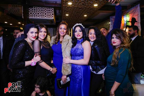 نجوم الزمالك فى حفل خطوبة محمد عنتر و دنيا الحلو (27)