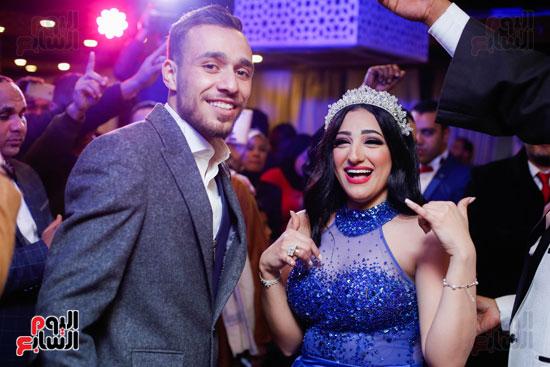 نجوم الزمالك فى حفل خطوبة محمد عنتر و دنيا الحلو (84)