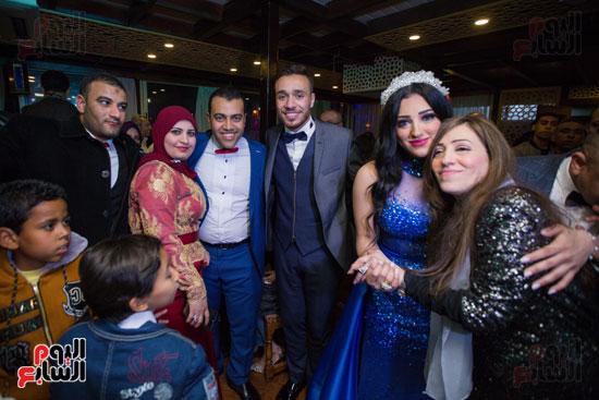 نجوم الزمالك فى حفل خطوبة محمد عنتر و دنيا الحلو (58)