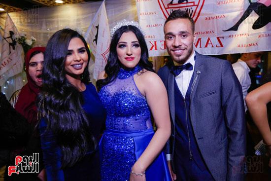 نجوم الزمالك فى حفل خطوبة محمد عنتر و دنيا الحلو (37)