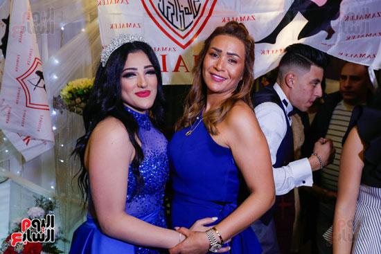 نجوم الزمالك فى حفل خطوبة محمد عنتر و دنيا الحلو (36)
