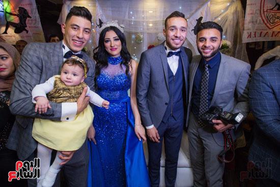 نجوم الزمالك فى حفل خطوبة محمد عنتر و دنيا الحلو (53)