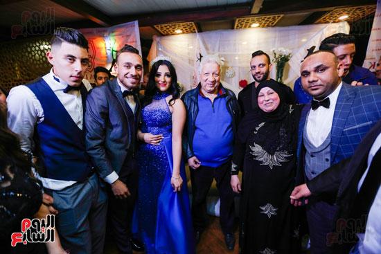 نجوم الزمالك فى حفل خطوبة محمد عنتر و دنيا الحلو (34)
